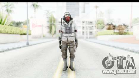The Division Last Man Battalion - Leader for GTA San Andreas second screenshot