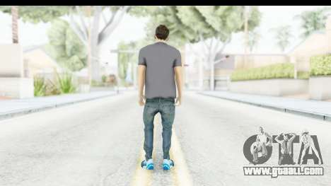 Lionel Messi Casual for GTA San Andreas third screenshot