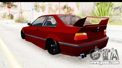 BMW M3 E36 Spermatozoid Edition for GTA San Andreas left view