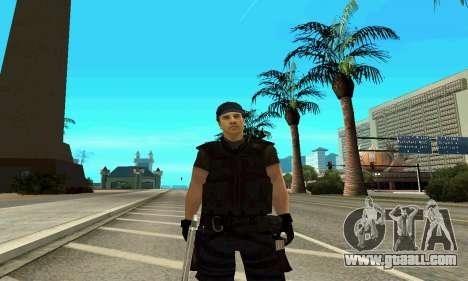 Trainer SWAT for GTA San Andreas forth screenshot