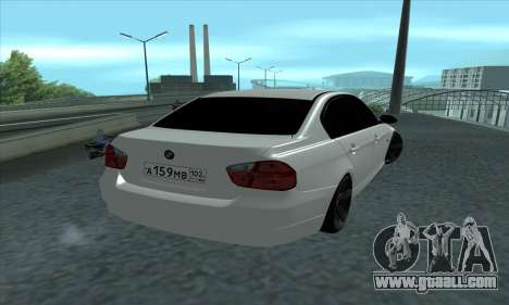 BMW 325i E90 for GTA San Andreas left view