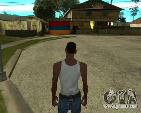 Garage CJ Armenian for GTA San Andreas forth screenshot