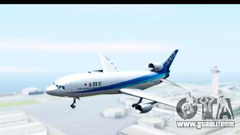 Lockheed L-1011-100 TriStar All Nippon Airways for GTA San Andreas back left view