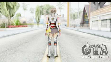 Dynasty Warriors 8 Xtreme Legends Lu Lingqi 2 for GTA San Andreas third screenshot
