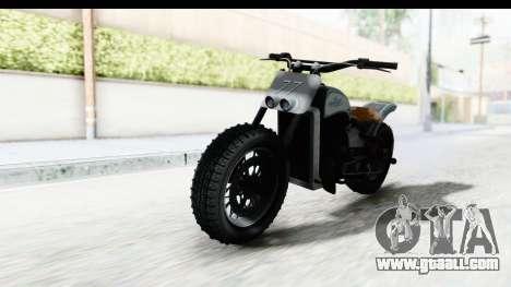 GTA 5 Western Gargoyle Custom v2 for GTA San Andreas right view