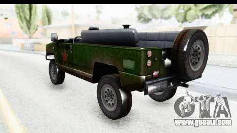 BJ2022 for GTA San Andreas left view