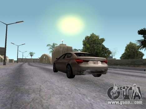 GTA 5 Ubermacht Oracle II for GTA San Andreas left view