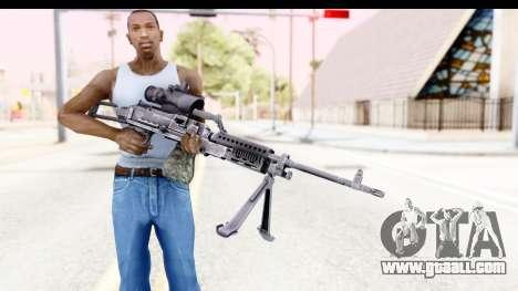 M240 FSK for GTA San Andreas third screenshot