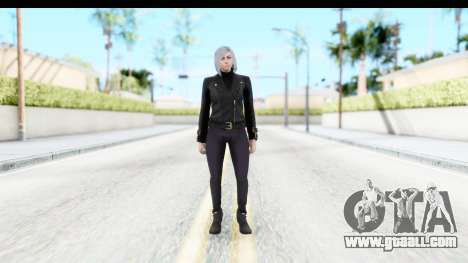 GTA 5 Ill Gotten-Gains DLC Female Skin for GTA San Andreas second screenshot