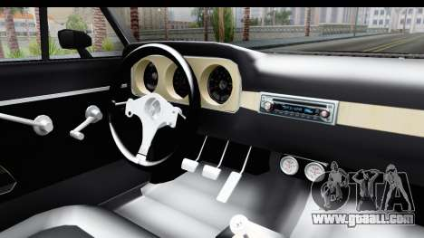 Ford Falcon Sprint for GTA San Andreas inner view