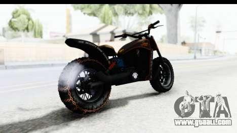 GTA 5 Western Gargoyle Custom v1 IVF for GTA San Andreas left view