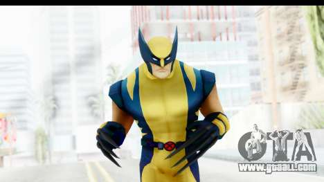 Marvel Heroes - Wolverine Modern for GTA San Andreas
