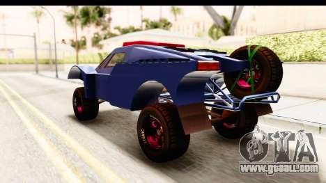 GTA 5 Desert Raid SA Lights for GTA San Andreas back left view