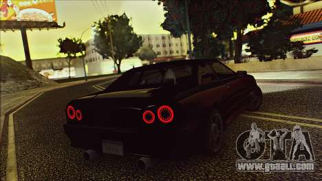 Elegy Drophead for GTA San Andreas back view