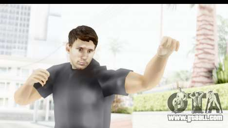 Lionel Messi Casual for GTA San Andreas