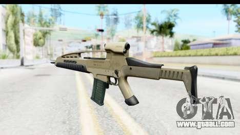 H&K XM8 for GTA San Andreas second screenshot