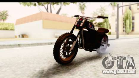 GTA 5 Western Cliffhanger Custom v2 for GTA San Andreas right view