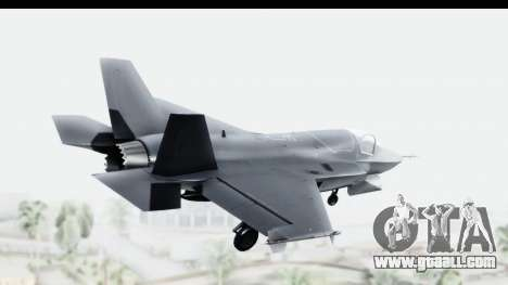 Lockheed Martin F-35B Lightning II for GTA San Andreas left view