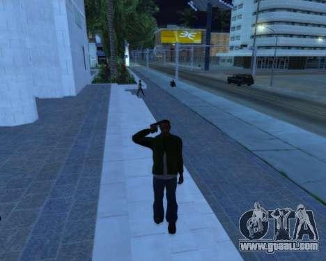 Salute for GTA San Andreas second screenshot
