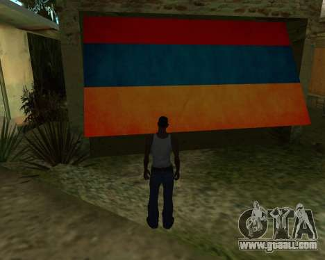 Garage CJ Armenian for GTA San Andreas second screenshot