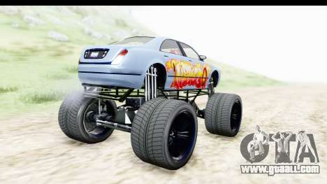 GTA 5 Enus Cognoscenti XL for GTA San Andreas left view
