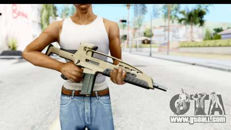 H&K XM8 for GTA San Andreas third screenshot