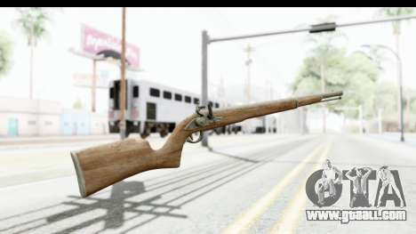 GTA 5 Musket for GTA San Andreas second screenshot