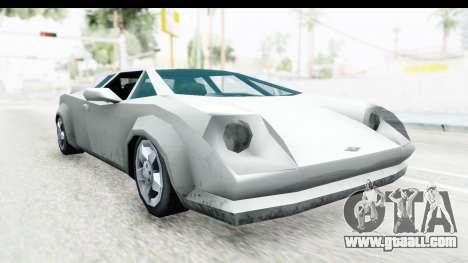 VCS Infernus for GTA San Andreas
