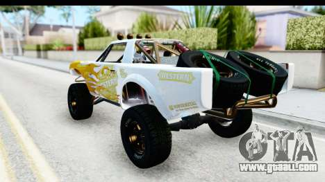 GTA 5 Trophy Truck SA Lights for GTA San Andreas upper view