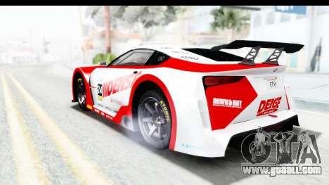 GTA 5 Emperor ETR1 v2 SA Lights for GTA San Andreas bottom view