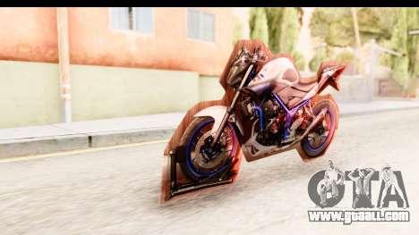 Yamaha MT-25 (MT-03) for GTA San Andreas right view