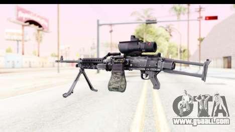 M240 FSK for GTA San Andreas second screenshot