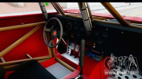 GTA 5 Trophy Truck SA Lights for GTA San Andreas inner view