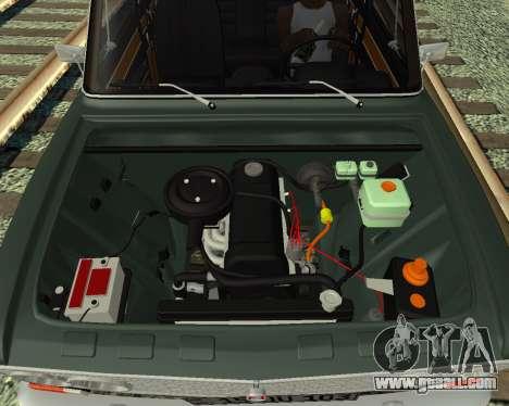 VAZ 2103 Armenian for GTA San Andreas left view