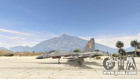 GTA 5 Su-30МКК HQ Chinese second screenshot
