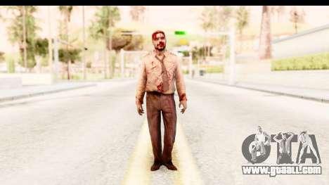 Left 4 Dead 2 - Zombie Pilot for GTA San Andreas second screenshot