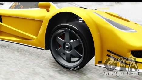 GTA 5 Progen Tyrus IVF for GTA San Andreas back view
