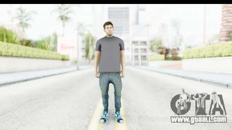 Lionel Messi Casual for GTA San Andreas second screenshot