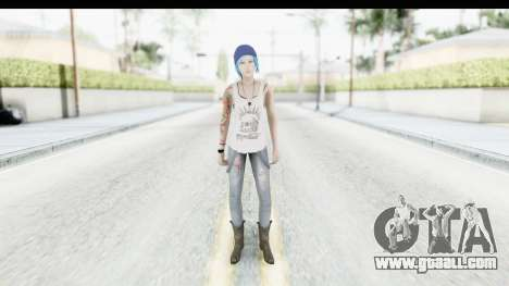Life is Strange Episode 3 - Chloe Shirt for GTA San Andreas second screenshot