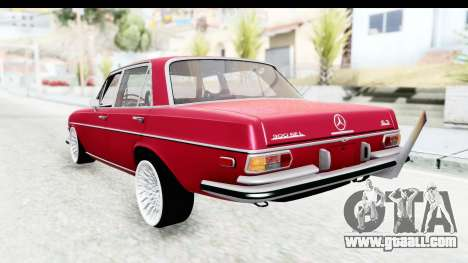 Mercedes-Benz 300SEL for GTA San Andreas left view