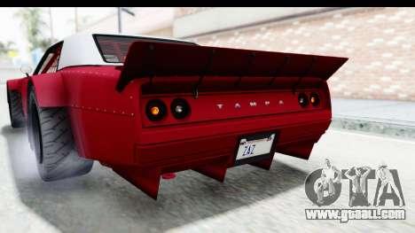 GTA 5 Declasse Drift Tampa IVF for GTA San Andreas upper view
