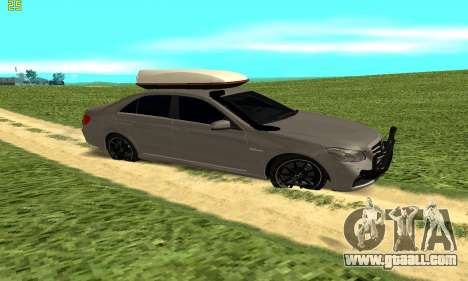 Mercedes Benz E63 AMG for GTA San Andreas left view