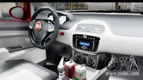 Fiat Linea 2015 v2 for GTA San Andreas inner view