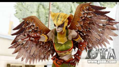 Injustice God Among Us - Hawk Girl for GTA San Andreas