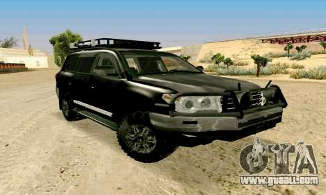Toyota Land Cruiser 200 for GTA San Andreas