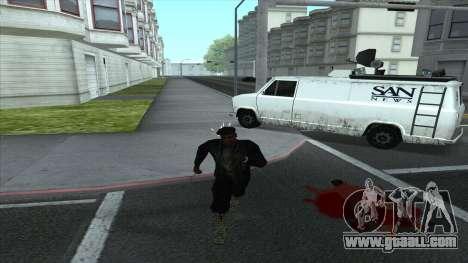 Newsvan Follow You for GTA San Andreas