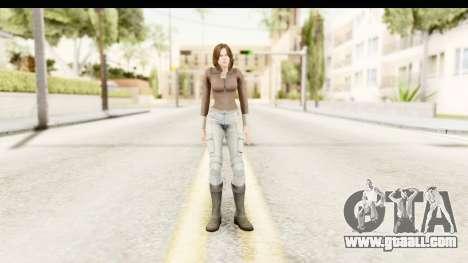 Helena Casual Skin for GTA San Andreas second screenshot