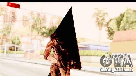 Silent Hill Downpour - Pyramid Head for GTA San Andreas