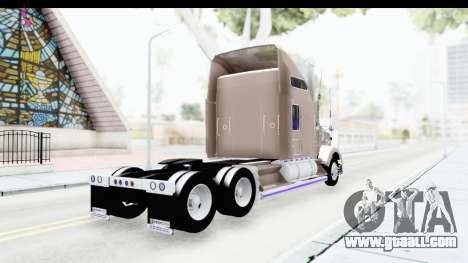 Kenworth T800 Centenario Studio Sleeper Toys for GTA San Andreas left view