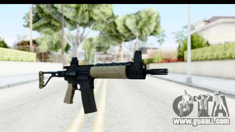 LR-300 Tan for GTA San Andreas